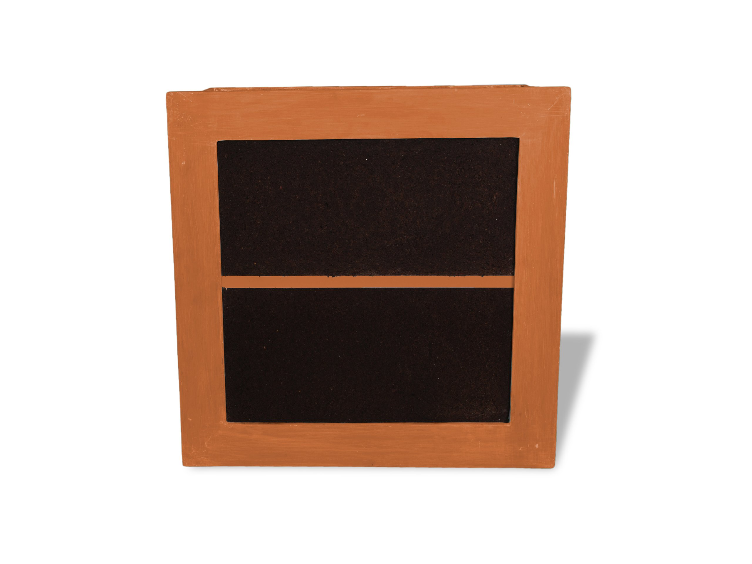 Amedeo Design 2100-01T Framed Living Indoor Wall Planter, 29.5 by 29.5 by 4-Inch, Terra Cotta