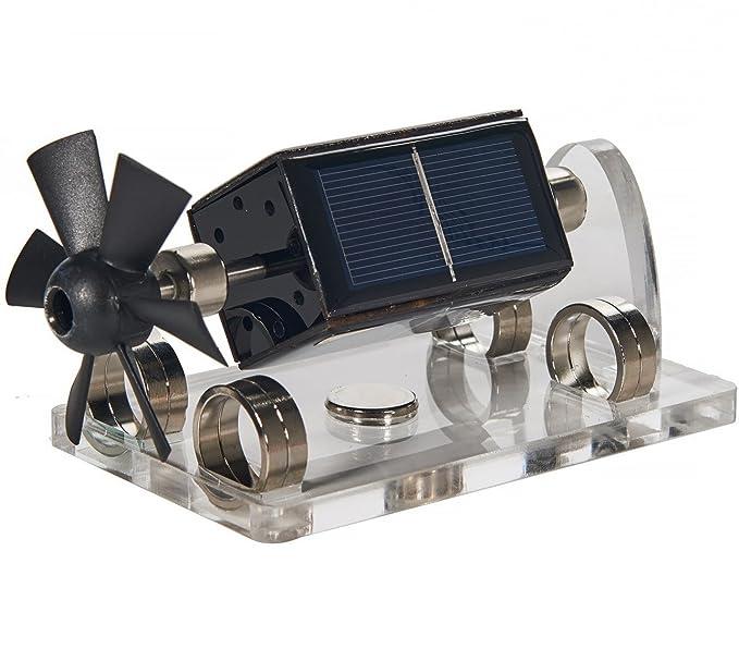 77b4f87a66a Amazon.com  Sunnytech Solar Magnetic Levitation Model Levitating Mendocino  Motor Educational Model ST41  Toys   Games