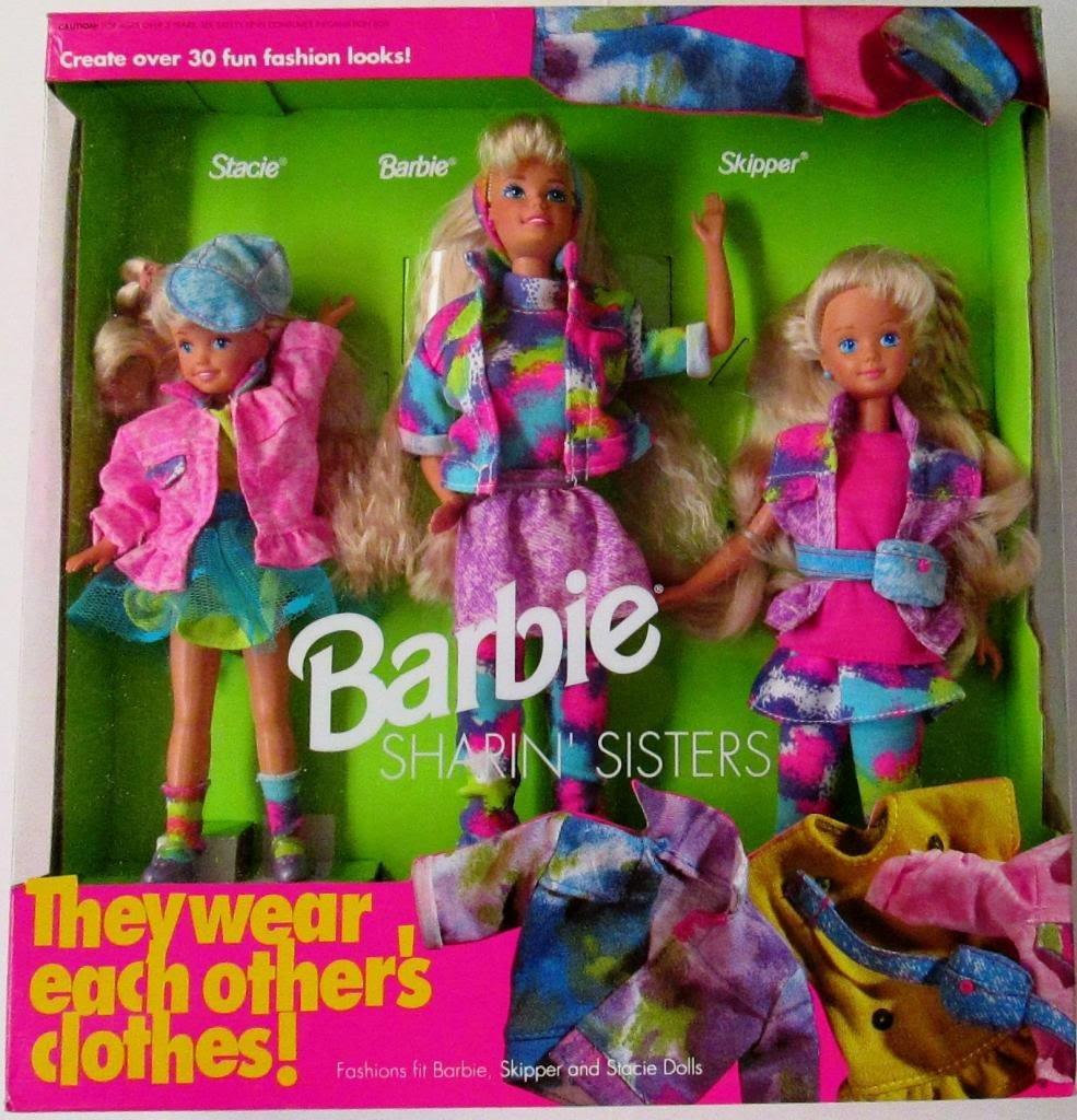 Image result for Mattel Barbie Sharin' Sisters