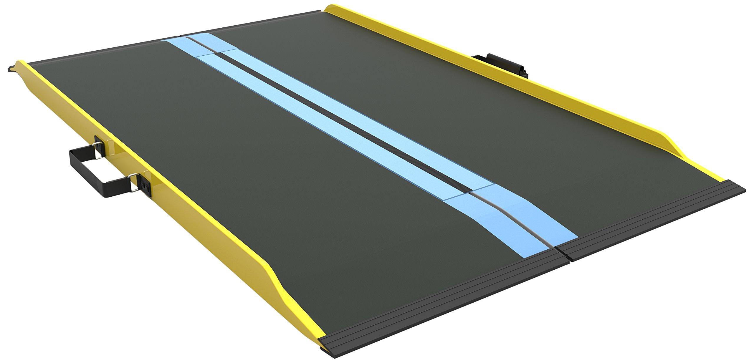 EZ-ACCESS Suitcase Singlefold Graphite Fiber Ramp, 51 Inch, 17 Pound
