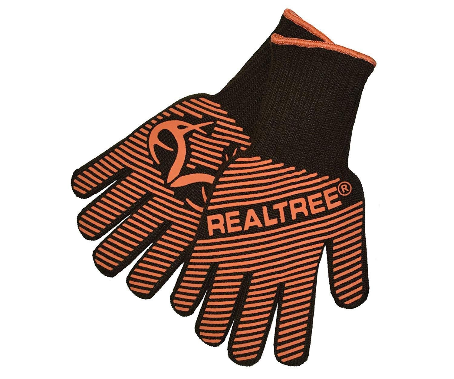 ZJYSM Comfortable Wearable Flexible Light Temperature Gloves Barbecue Gloves Microwave Oven Kitchen BBQ Anti-scalding Gloves Gloves