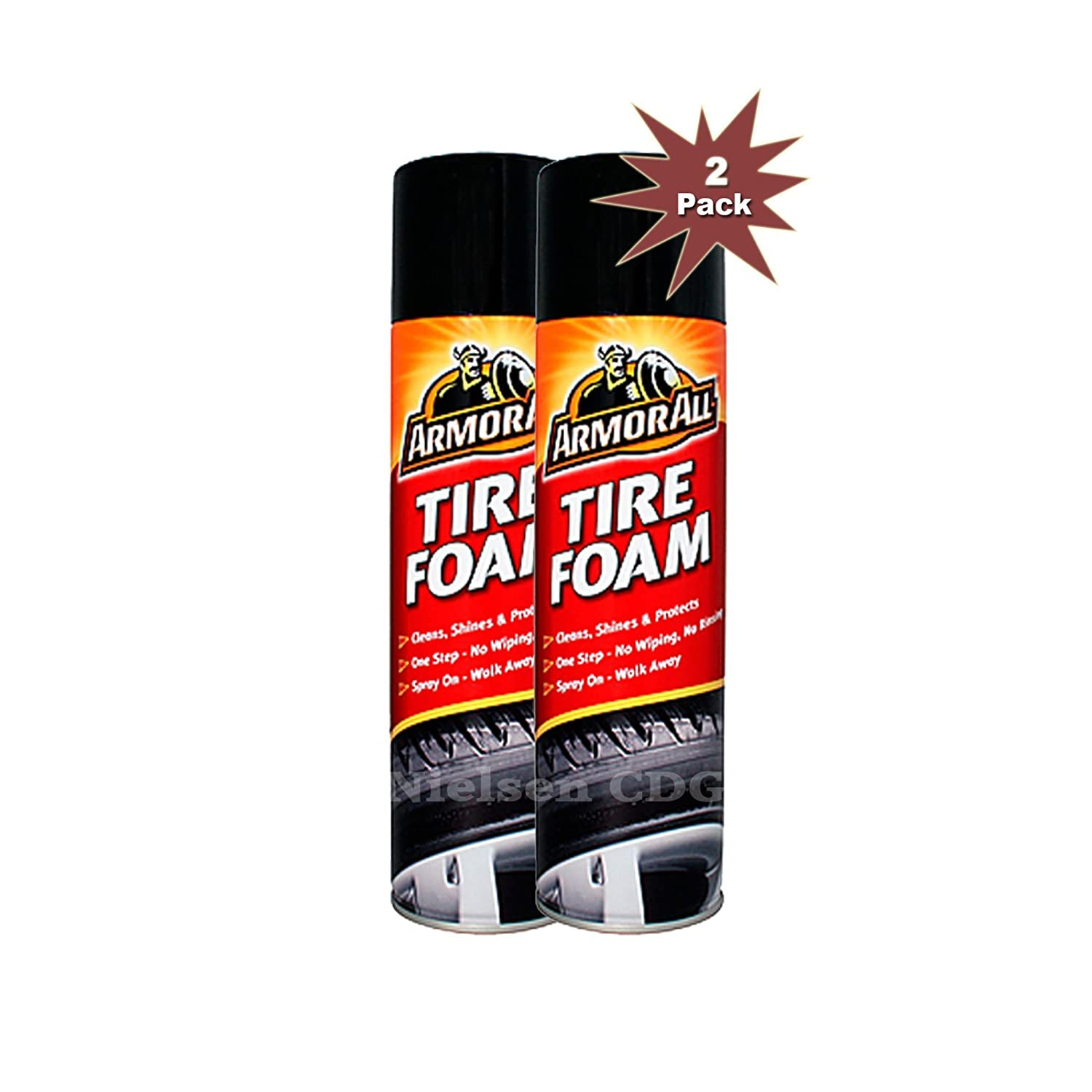 Armor All® Tire Foam Cleaner 2x500ml = 2pk Armor All®