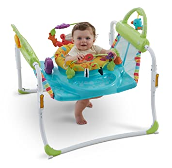 9a3394f269a3 Amazon.com   Fisher-Price First Steps Jumperoo   Baby Walkers   Baby