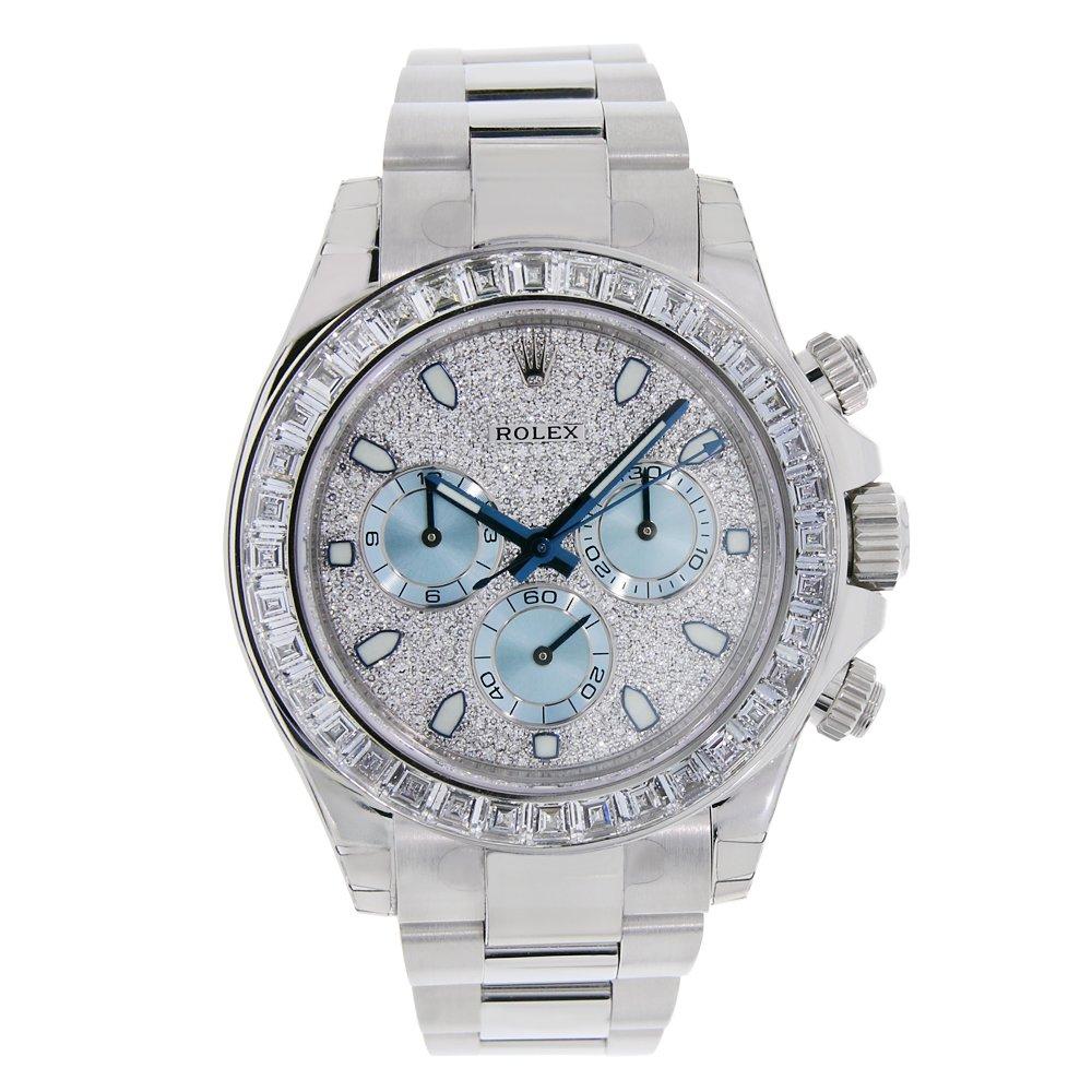 Rolex Mujer 116576 Daytona Platinum Diamond Bisel Diamante PAVE Dial reloj: Rolex: Amazon.es: Relojes