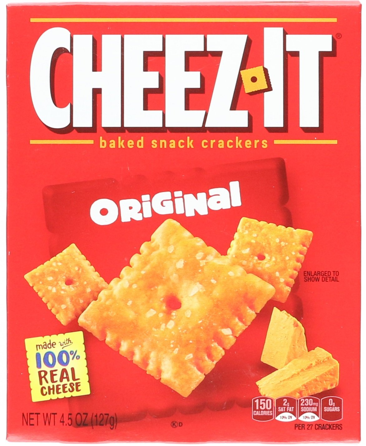 Cheez-It Baked Snack Crackers, 4.5 oz