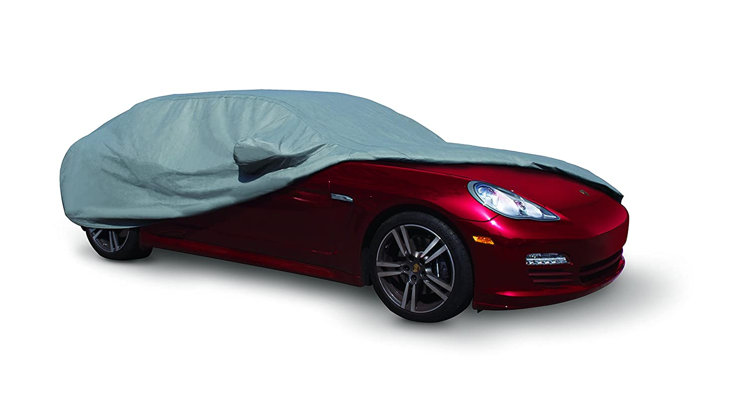 ADCO 31009 Gray Model F Armor 400 Universal Car Cover, Fits Cars 161-176 Long