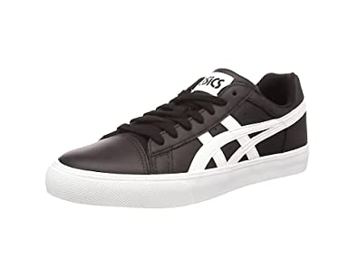 Asics NS-Court, Sneakers Basses Mixte Adulte - Blanc (White/Navy 0150), 37 1/2 EU (4 UK)
