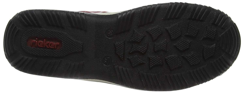 Rieker Womens Ballerinas, Sandalen Rot, Sneakers 941857-4, Gr 36 B016QD9AR8 Fashion Sneakers Rot, dfc333