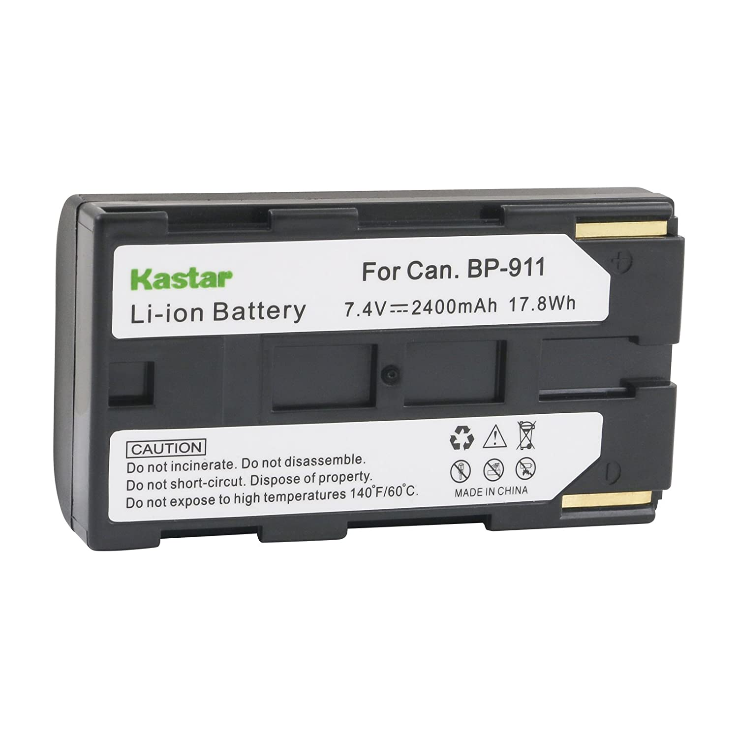 BP-950 BP-911K BP-930 BP-945 BP-935 BP-915 BP-925 Kastar Camcorder Battery Replacement for Canon BP-911 BP-914