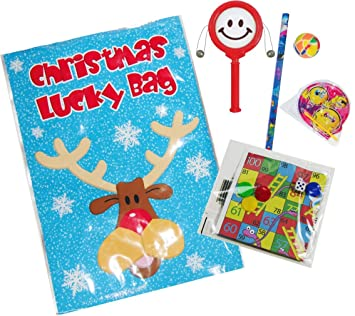 30 ASSORTED CHRISTMAS PARTY BAG FILLERS VALUE LUCKY DIP POCKET MONEY TOYS