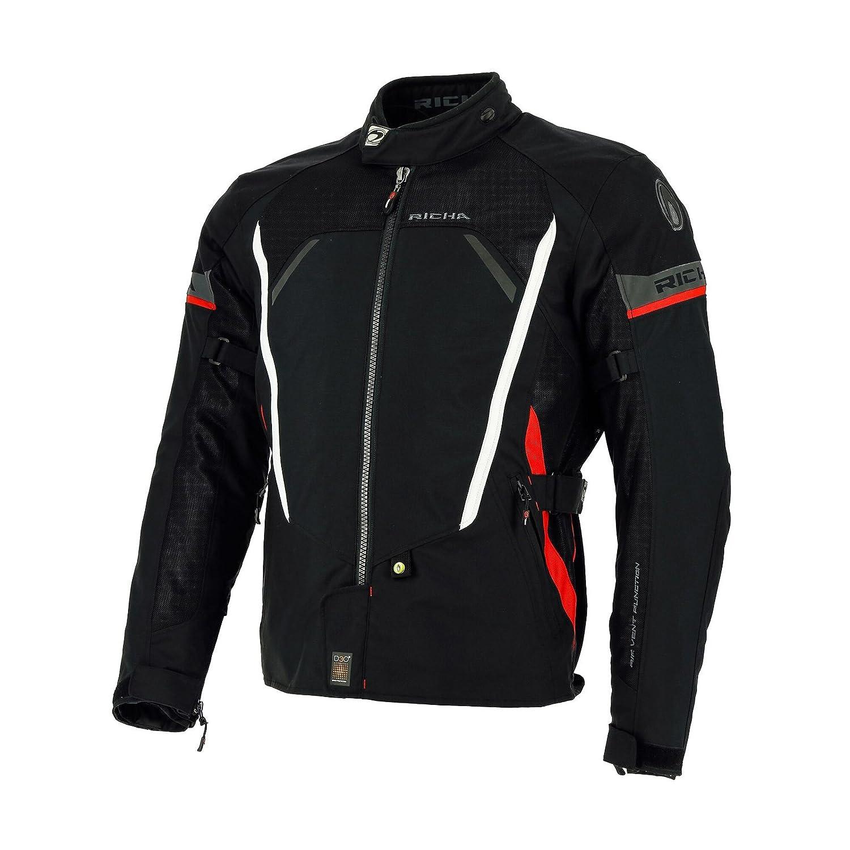 /Noir Richa Airbender Textile blind/é en Maille Motorycle de Moto/ /Homme/