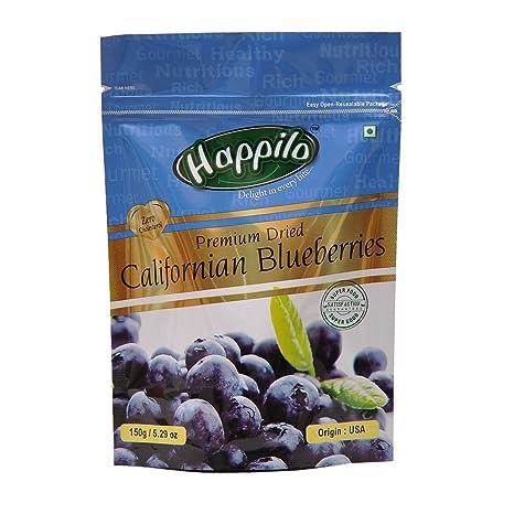 Happilo�Premium Dried Californian Blueberries, 150g