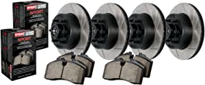 Stoptech 937.68003 Street Axle Pack Front Slotted