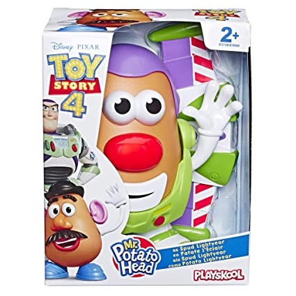 Mr Potato Head Disneypixar Toy Story 4 Spud Lightyear Figure Toy For Kids Ages 2 And Up