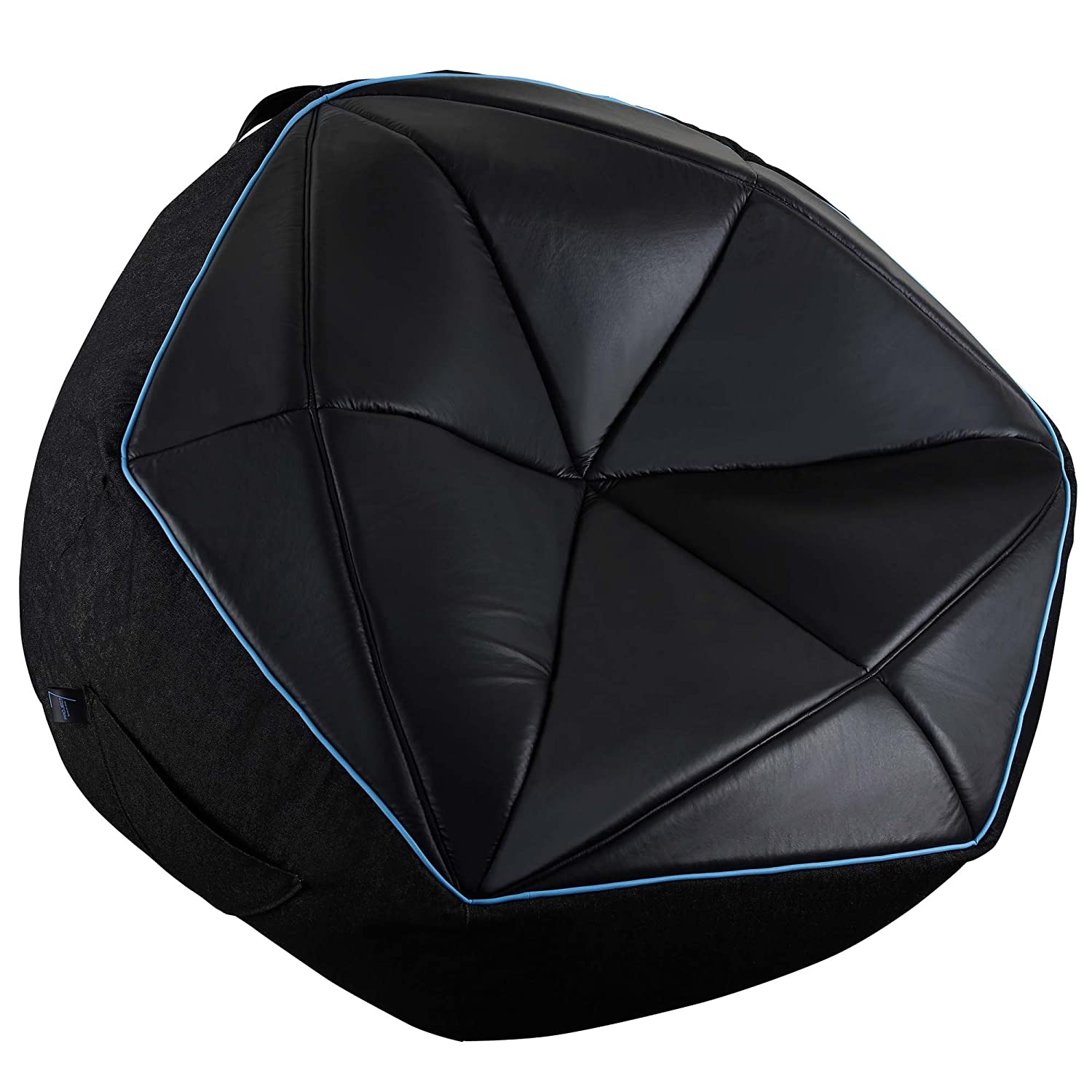 Aerocool P7BB1 Bean Bag Puff Gaming Black XL, Tessuto, Nero, X-Large