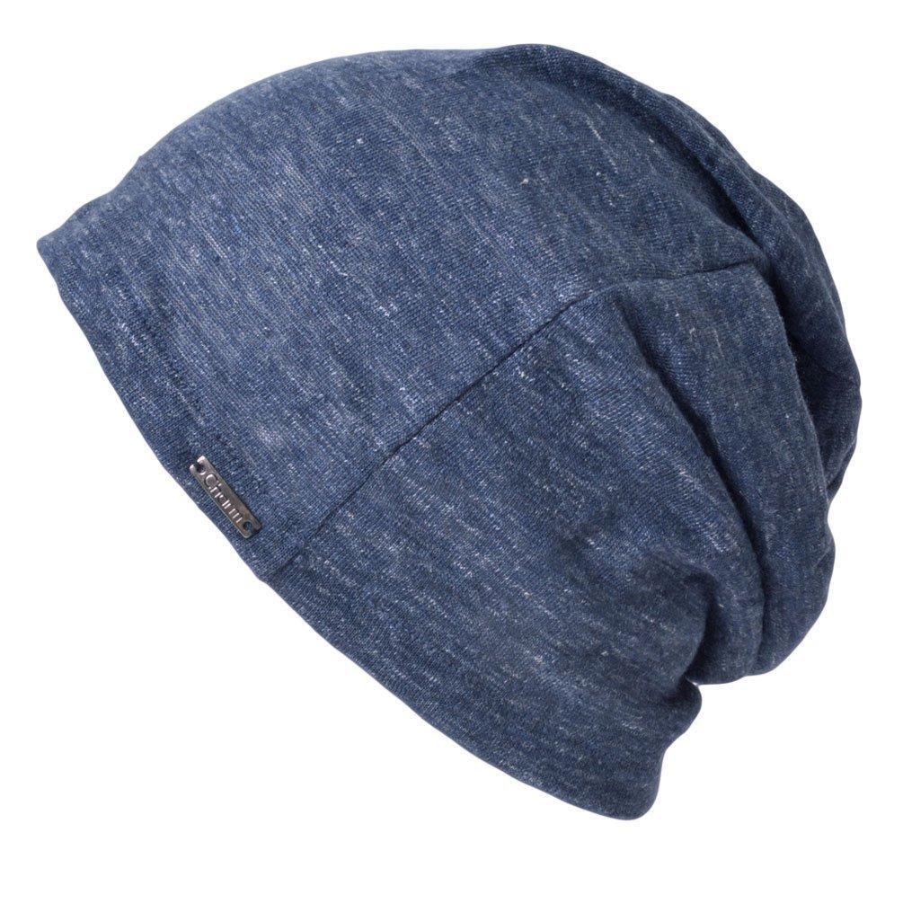 Casualbox Womens Oversized Beanie Linen Summer Made in Japan Hat Knit Cap Lightweight skull-caps