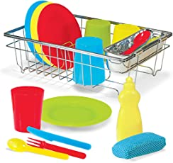 Let's Play House! Wash & Dry Dish Set: Play House - Kitchens & Play Sets