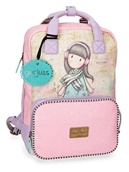 Gorjuss Lost In Music Mochila Tipo Casual, 40 cm, 15.08 litros: Amazon.es: Equipaje
