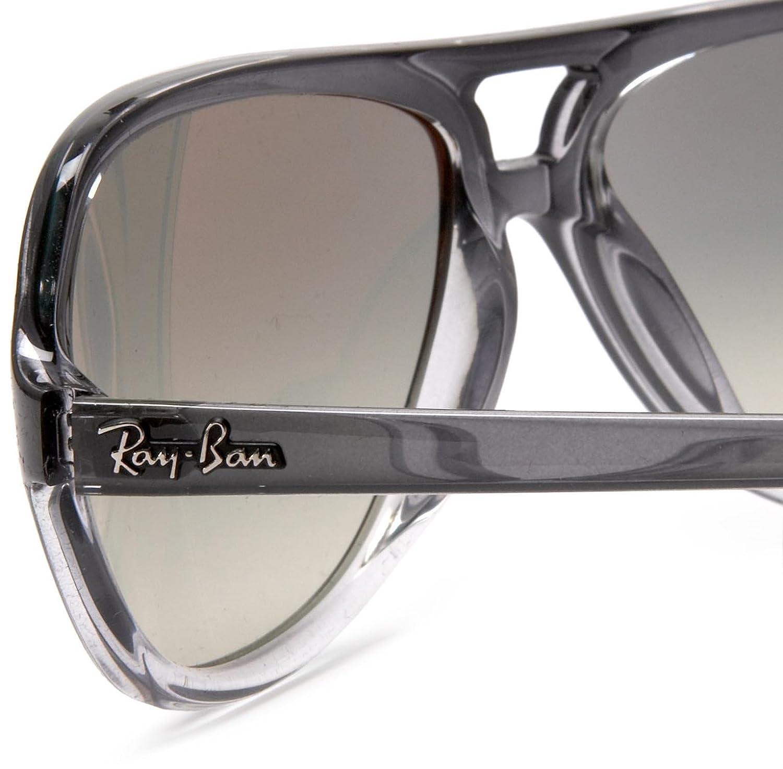 2c9ed1405b Amazon.com  Ray-Ban RB4162 - GRAY GRADIENT TRANSPAREN Frame CRYSTAL GREY  GRADIENT Lenses 59mm Non-Polarized  RAY BAN  Clothing