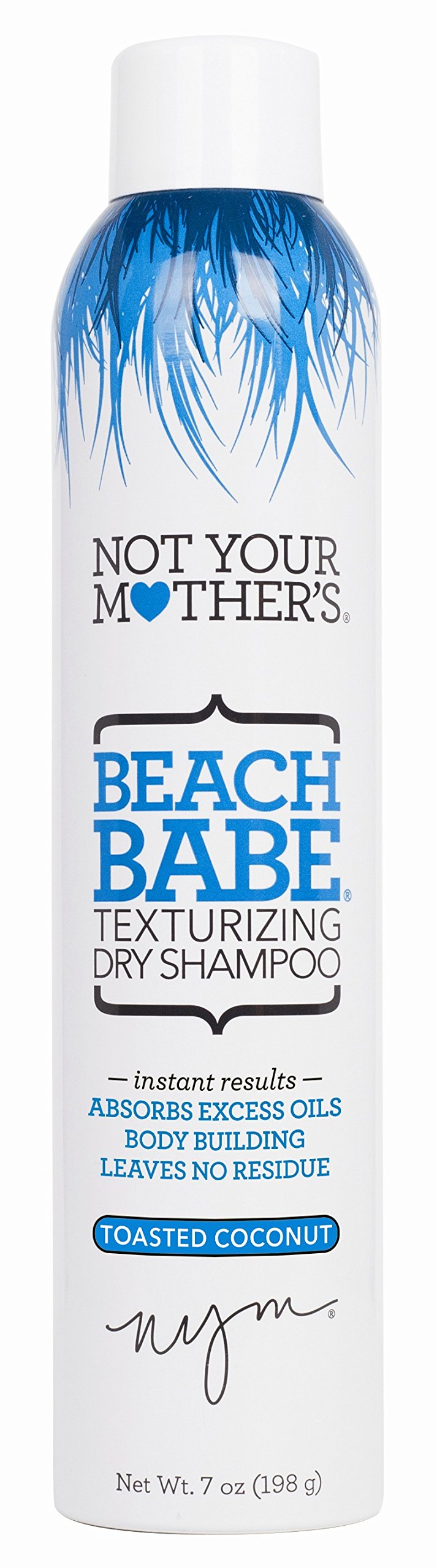 Not Your Mothers Shampoo Dry Beach Babe 7 Ounce Texturizing (207ml) (6 Pack) by Not Your Mother's