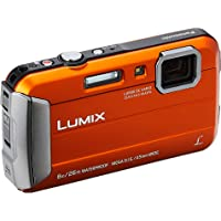 Panasonic LUMIX DMC-FT30 Digital Camera, Orange