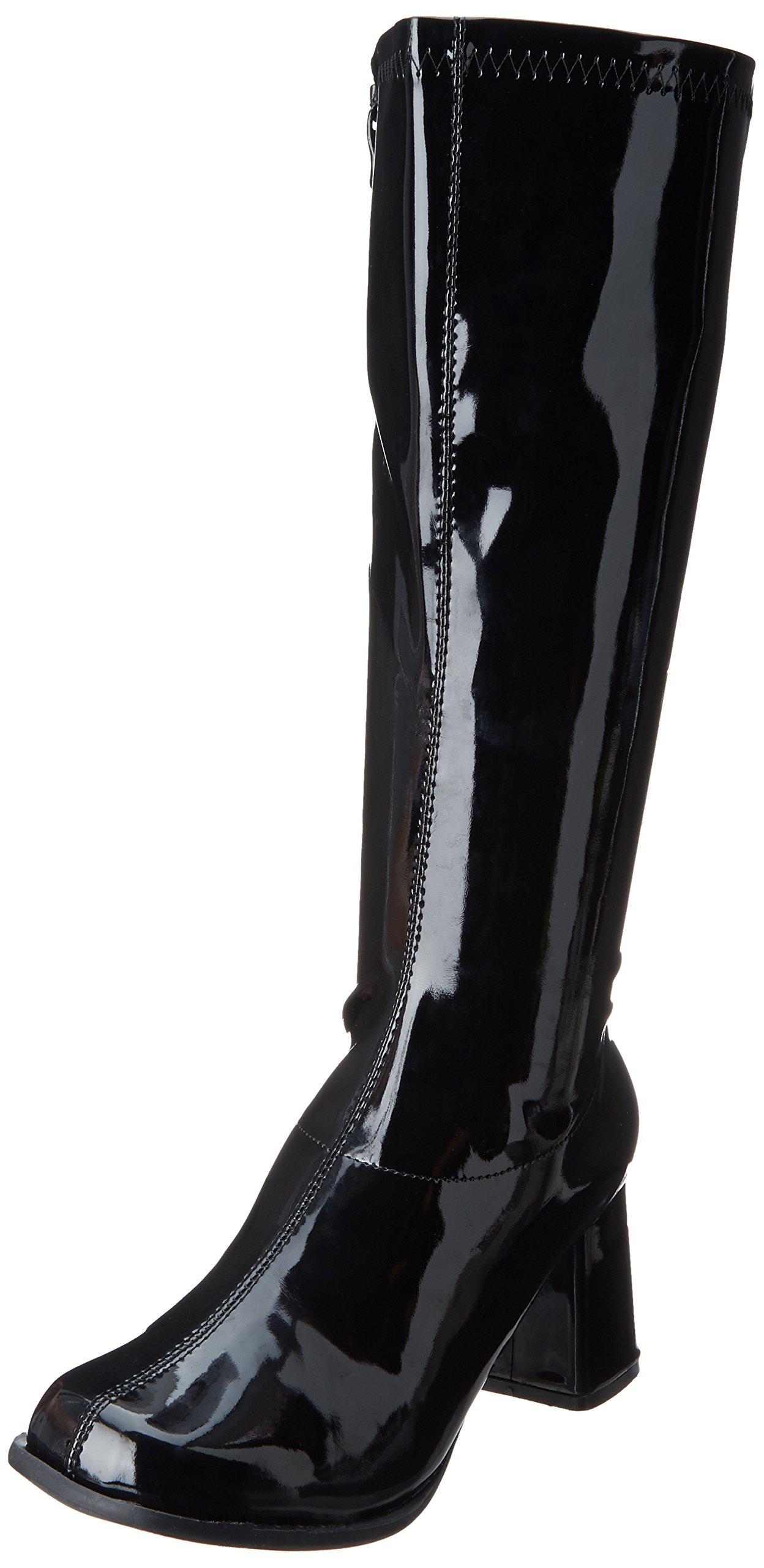 Ellie Shoes Women's Gogo Boot, Black, 6 M US