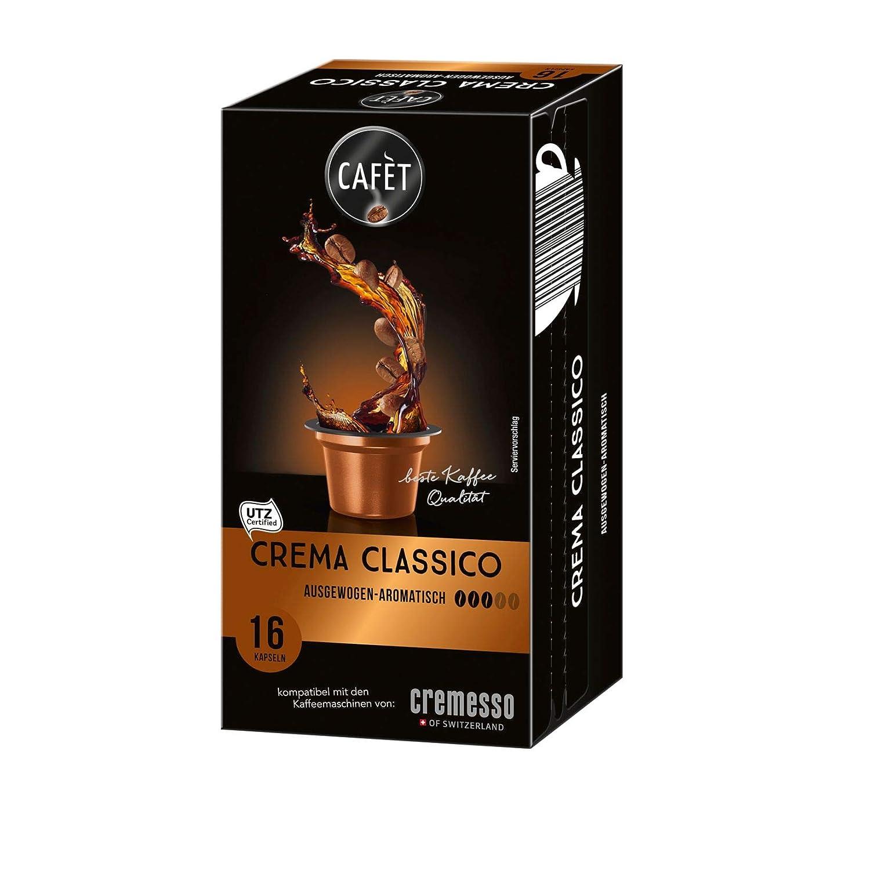 Cafet para Cremesso, Ristretto 16 cápsulas: Amazon.es ...