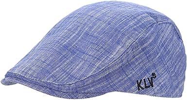 Mens Cotton Newsboy Sun Driver Cap Adjustable Size TM XueXian