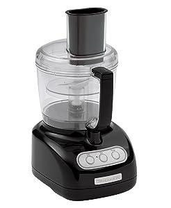 KitchenAid KFP720OB 7-Cup Food Processor with 3-Cup Mini Bowl, Onyx Black