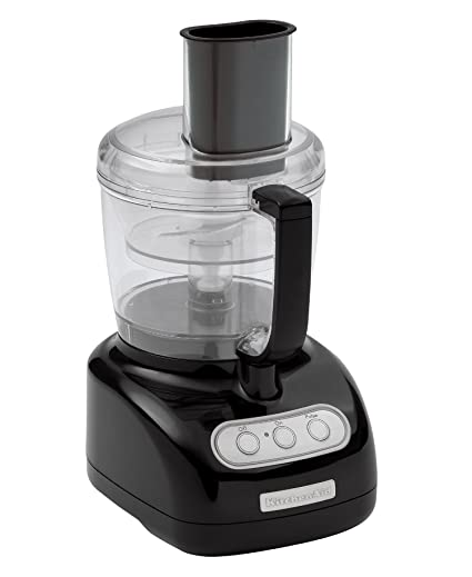 Exceptional KitchenAid KFP720OB 7 Cup Food Processor With 3 Cup Mini Bowl, Onyx Black