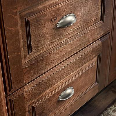 brushed nickel brass Dresser Drawer Pulls Cabinet Handles Pulls Kitchen Cupboard