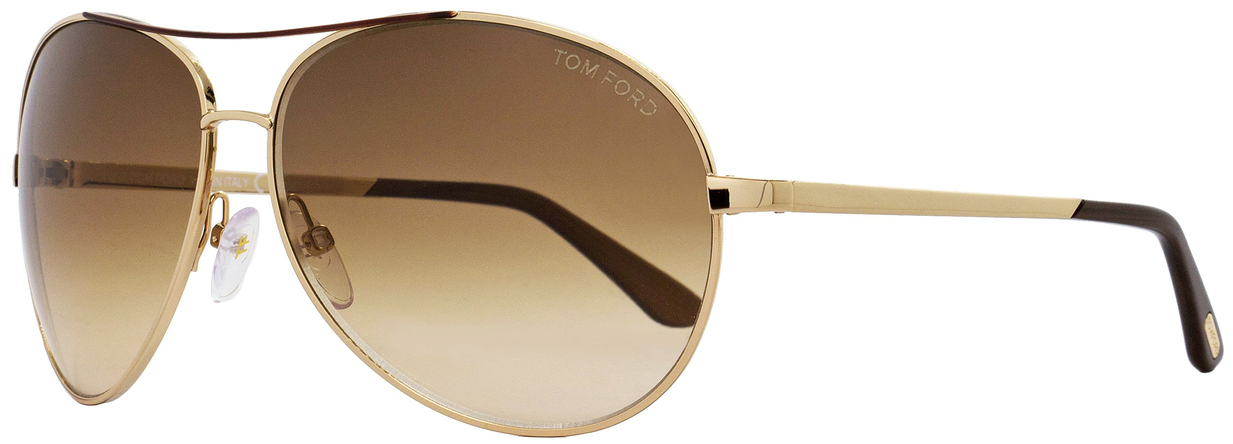 TOM FORD SUNGLASSES FT0035 CHARLES GOLD TF35 772