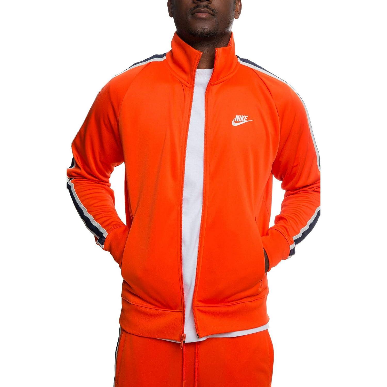 Felpe Uomo Nike M NSW He Jkt PK N98 Tribute Giacca Sportiva