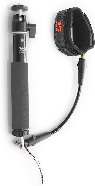 0,3-0,9 m, Sicherheitsleash f/ür Handgelenk X-Sories XSBIG Combo Big U-Shot//Cord-Cam Wrist Pack mit Teleskopstab f/ür GoPro Kamera gold