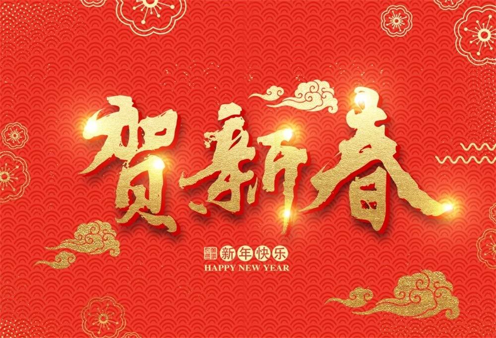 BT-Chinese 新年 2019 Pig 2 7x5ft FZNZY01359 B07MJBGLVP