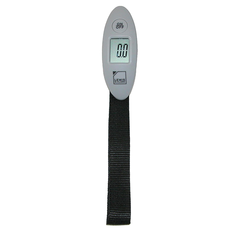 Lewis N. Clark Mini Digital Luggage Scale, Gray 607