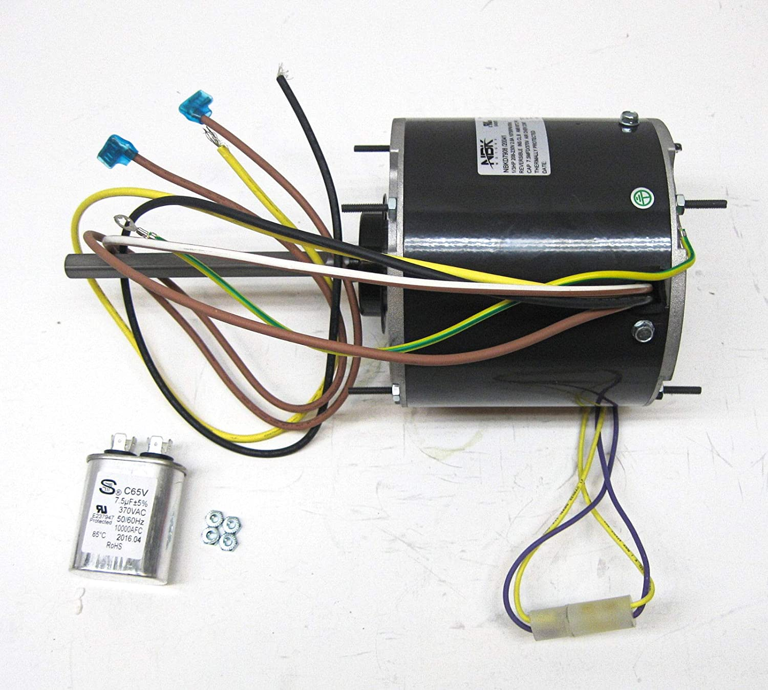 fasco d727 wiring diagram ac air conditioner condenser fan motor 1 3 hp 1075 rpm 230 volts  ac air conditioner condenser fan motor