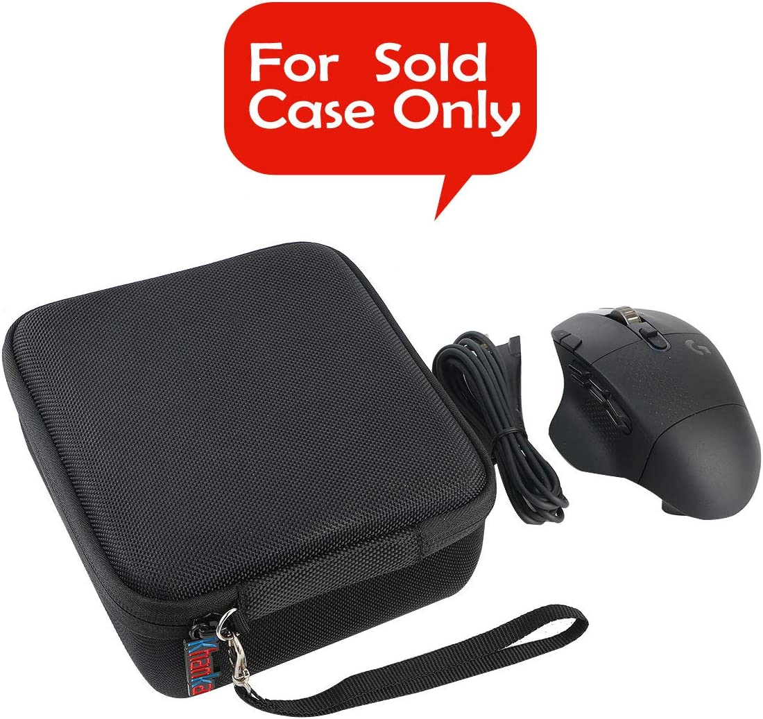 Khanka Hard Travel Case Replacement for Logitech G604 Wireless Gaming Mouse