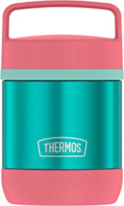 Thermos Stainless Steel Vacuum 10 Ounce Food Jar, Teal