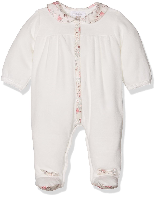 Absorba Baby Girls' Footies Beige (Ecru) 3-6 (Size:3 Months) 9K54043