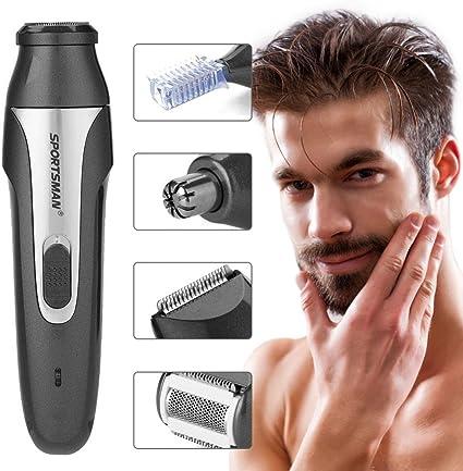 Nariz Cortapelos, USB 5 en 1 impermeable recargable afeitadora ...