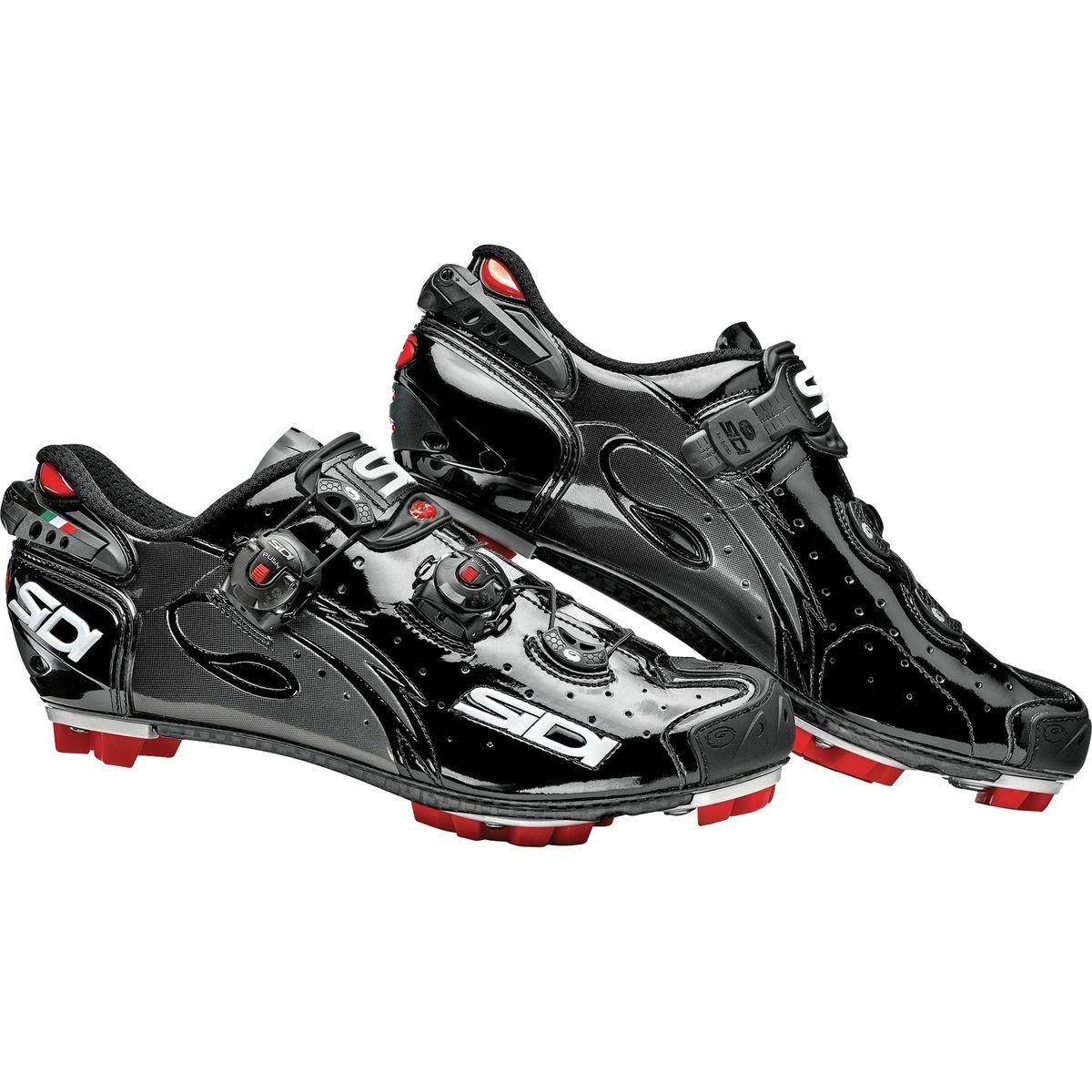 Zapatillas MTB Sidi Drako Carbon SRS Negro-Negro: Amazon.es: Zapatos y complementos