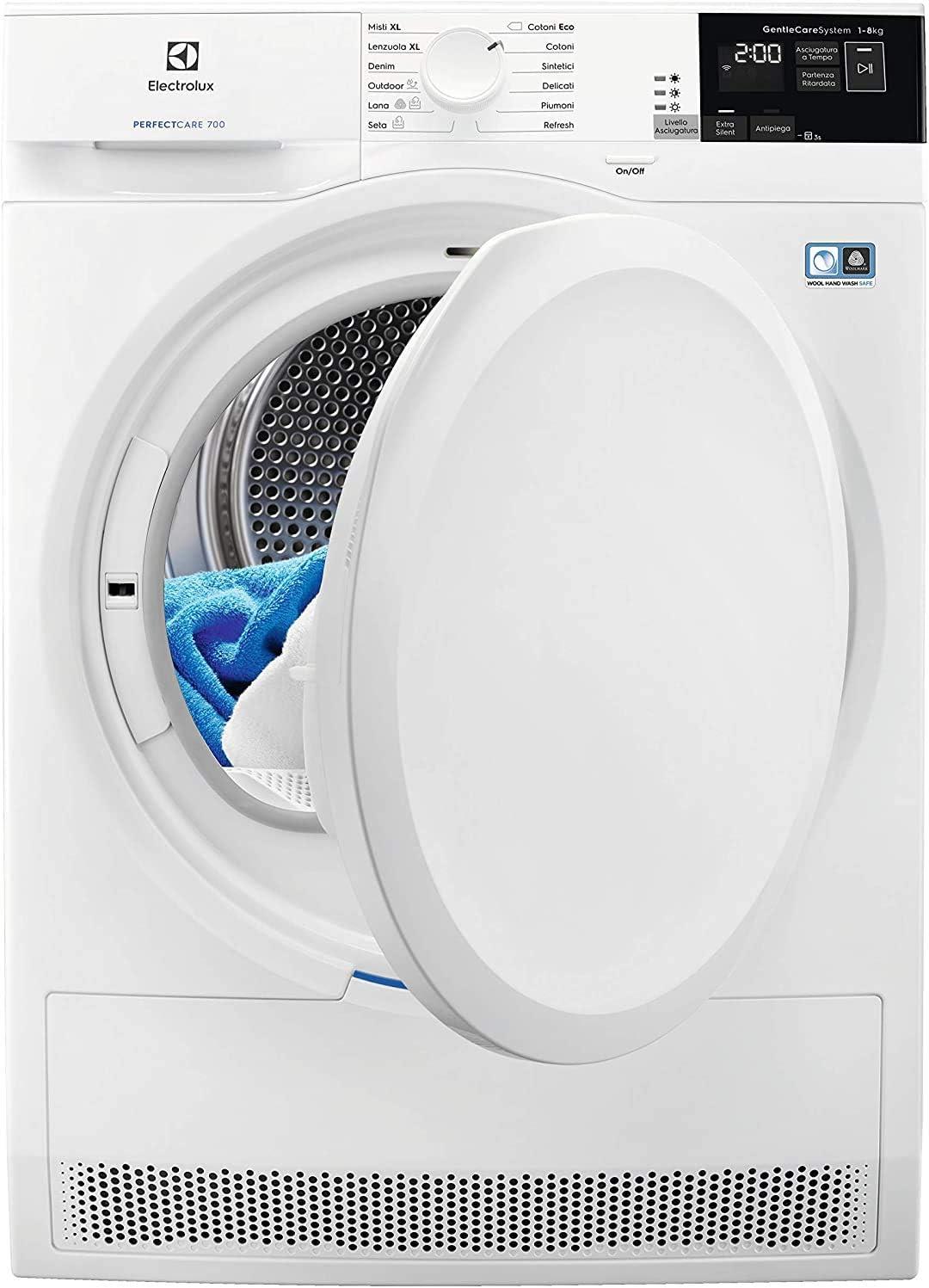 Electrolux EW7L82W4 La migliore asciugatrice a pompa di calore delicata