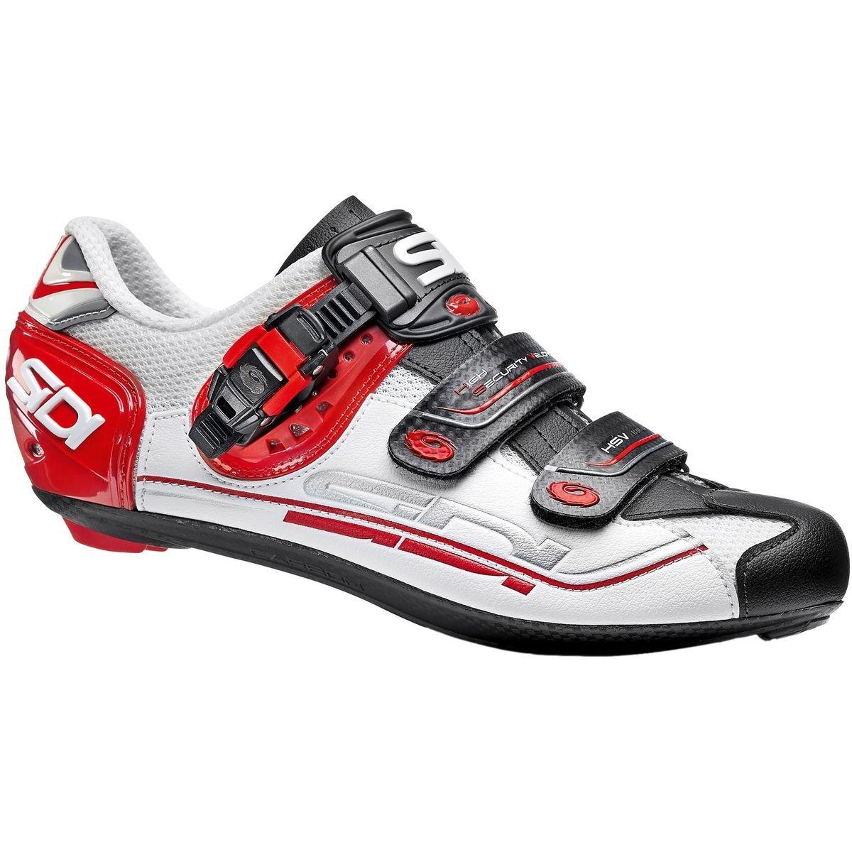 偉大な (シディ) Sidi (44.5) Genius 7 Carbon 日本サイズ Shoe メンズ ロードバイクシューズWhite/Black Sidi/Red [並行輸入品] 日本サイズ 28.5cm (44.5) White/Black/Red B07G773VZQ, 金銀の貯金箱-金貨や銀貨の販売:5347dfcf --- arianechie.dominiotemporario.com