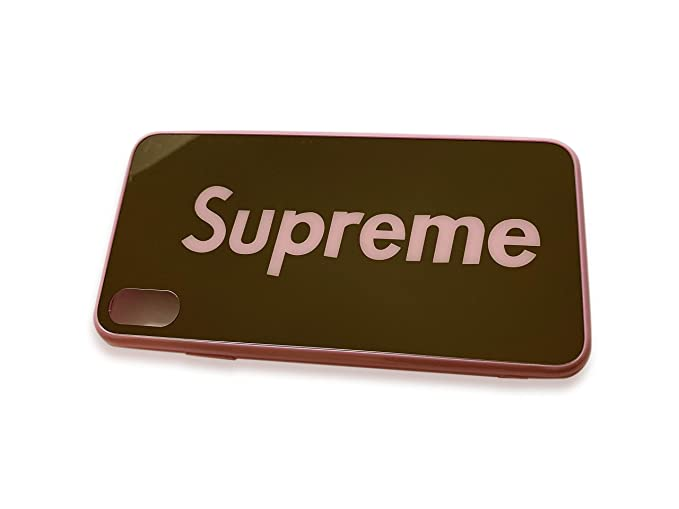 pretty nice 1c7b1 8f01e Amazon.com: Sup Fashion Box Logo Mirror Cool Supreme Fresh Luxurious ...