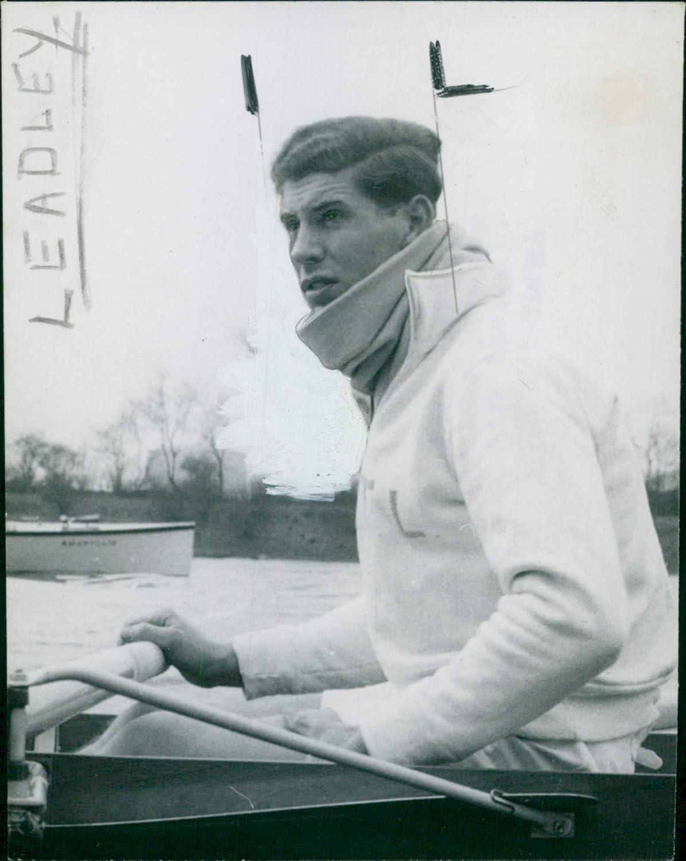 Vintage photo of D.A.T Leadley