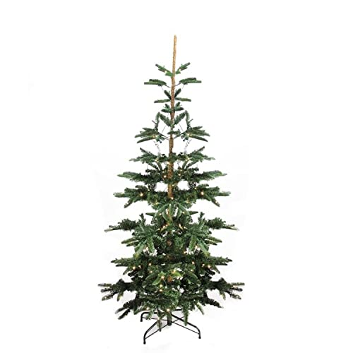 northlight 75 pre lit layered noble fir artificial christmas tree warm clear led - Artificial Christmas Trees Amazon