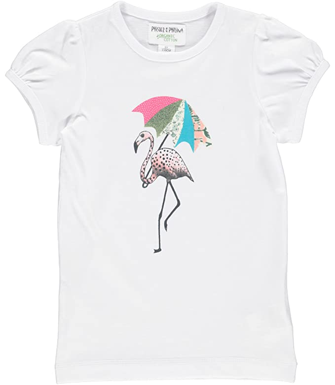 Phister & Philina Mädchen T-Shirt Kammy Solid Organic