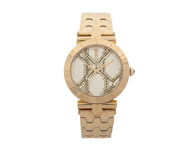 Just Cavalli Reloj Analógico para Mujer de Cuarzo con Correa en Acero Inoxidable JC1L005M0075: Amazon.es: Relojes