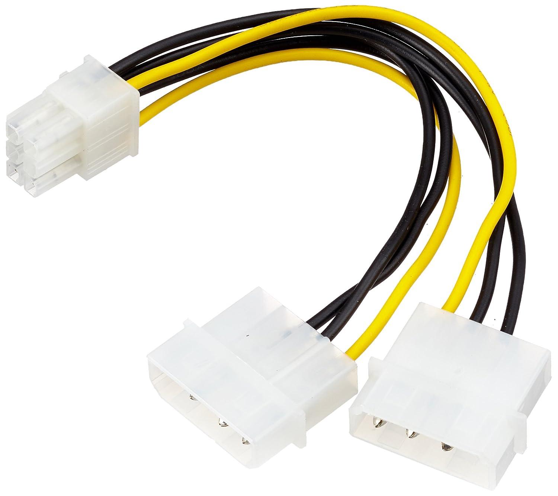 adaptare 35106 2-mal 4-polig IDE Molex auf 1-mal: Amazon.de ...